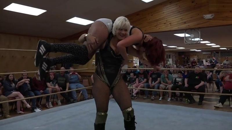 Angel Sinclair vs Sierra Limitless Wrestling Womens Wrestling WWR Pro Let's Wrestle