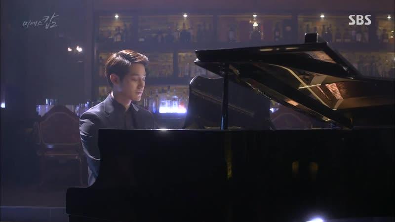 Ким Бом играет на пианино Госпожа полицейский 2