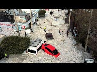 Ураган Потоп Наводнение в Италии 🙋 Тысячи автомобилей разрушены Градом, побит урожай # Шторм Милан