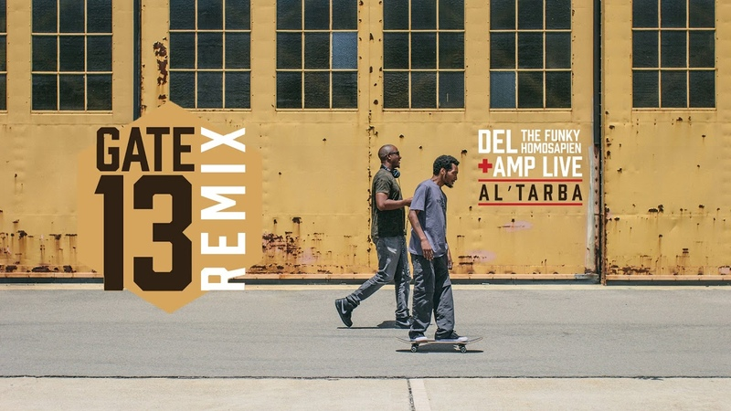 Del The Funky Homosapien Amp Live - On The Ball feat Eligh (Al'Tarba Remix)