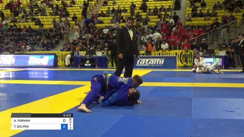 ALI FARMAN vs TAINAN DALPRA 2018 World IBJJF Jiu Jitsu Championship
