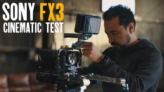 Sony FX3 Cinematic Camera Test // REAL PRODUCTION