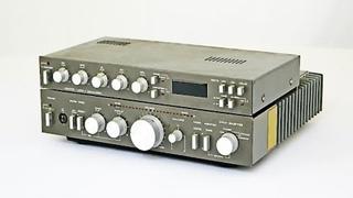 Амфитон У-002 стерео - НЧ усилитель. (Экспериментальная модель с блоком эквалайзера) СССР 1983 г.