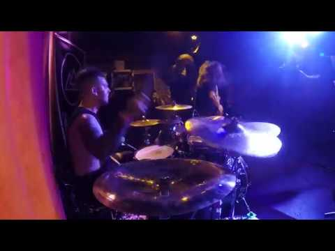 A Trigger Within - Bend or Break (Live @The Slidebar - drum cam)