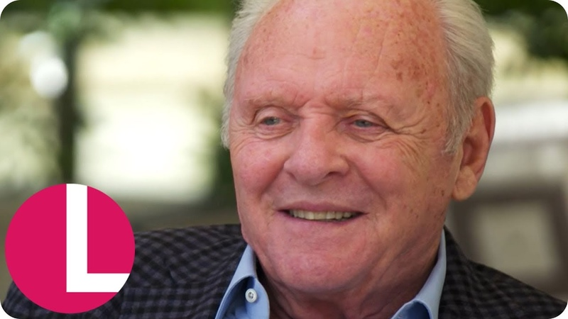 Sir Anthony Hopkins on Working With Olivia Colman Brad Pitt and More Lorraine