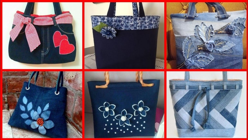 Most beautiful unique and trendy denim bag designs ideas