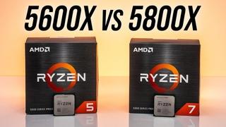 [EN] AMD Ryzen 5 5600X или Ryzen 7 5800X - 6 или 8 ядер?