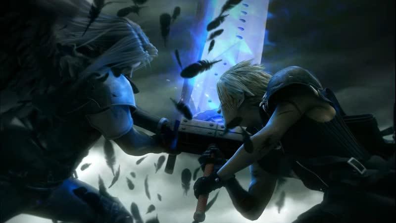 Final Fantasy TCG Cloud vs Sephiroth starter set анпакинг