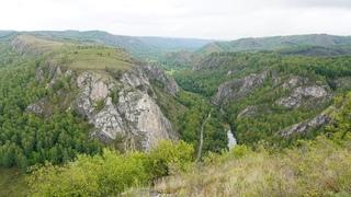 Путешествие в Мурадымовское ущелье. Южный Урал