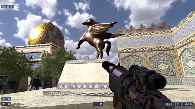 Serious Sam HD The Second Encounter Courtyards of Gilgamesh 08