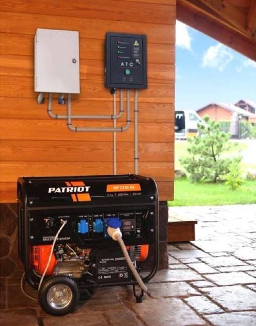 Система автоматического запуска генератора, изображение №1