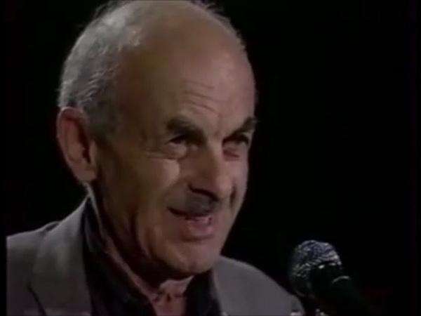 Bułat Okudżawa Koncert w Warszawie 1993 fragment Булат Окуджава в Варшаве 1993 фрагмент