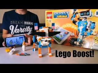 СУПЕР РОБОТ LEGO BOOST 5 в 1 набор для программирования!! Соберем и поиграем вместе