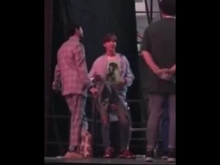 2min Taemin Minho 180802 KMF SHINee Backstage