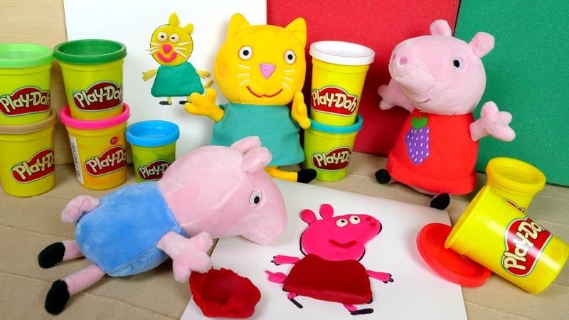 Giochi per bambini con protagoniste le bambole Peppa Pig gioca con i suoi amici