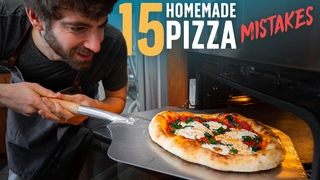15 Mistakes to Avoid When Making Pizza at Home 🍕