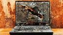 Restoration super broken old LENOVO laptop | Restored computer assemblies destroyed 10 years ago