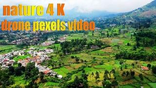 nature 4K drone pexels video bensound music birthofahero