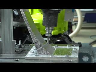 Лазерное сканирование деталей и фрезерование роботом KUKA в Центре разработок С7