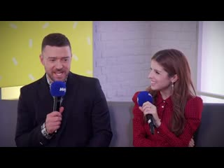 Harriet Scott and Eloise Carr meet Trolls World Tour stars Justin Timberlake Anna Kendrick