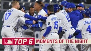 Salvador Perez Rips Walk-Off Single Down the Line | MLB Top 5 Moments | Stadium