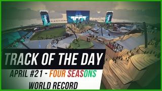Trackmania TOTD April #21 - Four Seasons Evolution | AR_Madzen -  World Record