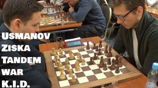 Usmanov - Ziska | King's indian sideline by Black