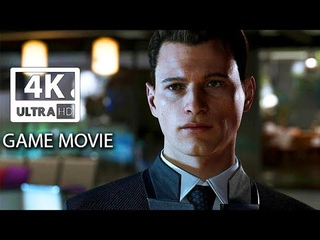 DETROIT: BECOME HUMAN All Cutscenes (Game Movie) PS4 PRO 4k Ultra HD