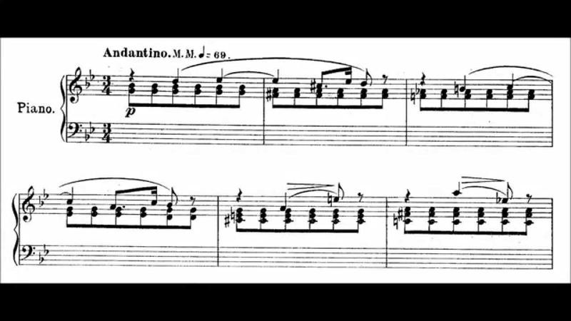 Alexander Gretchaninov Plainte Op 3 No 1 audio sheet music