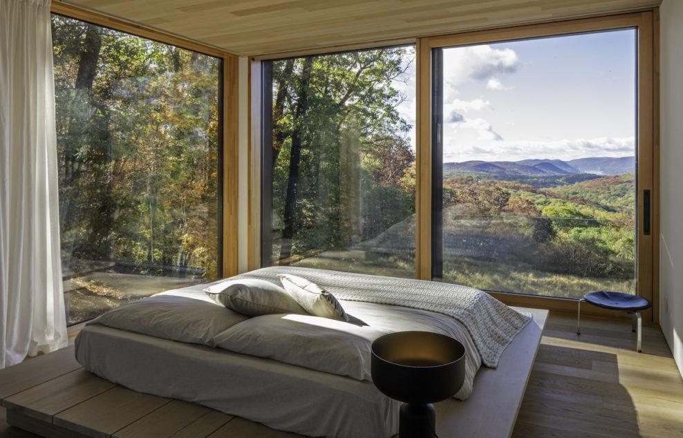 Дом с видом на горы в штате Нью-Йорк