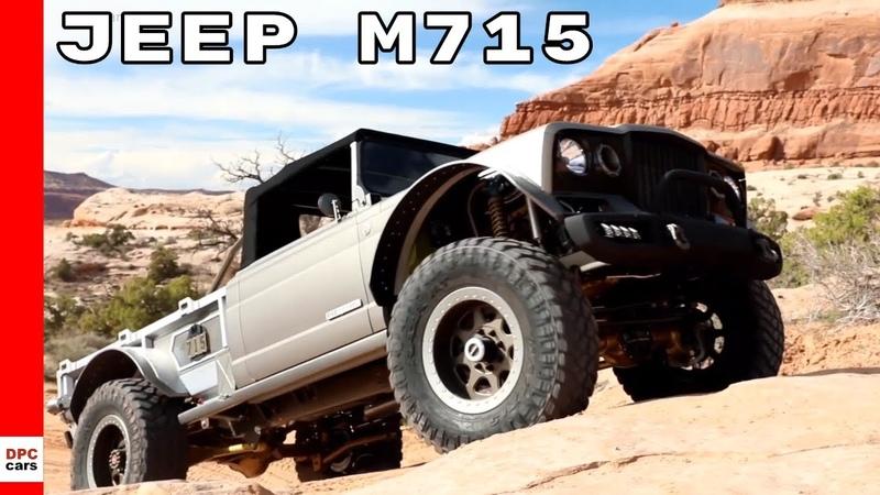 Jeep M715 Five Quarter Easter Jeep Safari