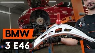 Как заменить передний нижний рычаг подвески BMW 3 (E46) [ВИДЕОУРОК AUTODOC]