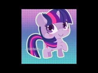 Милые пони (сборка кавайных картинок)