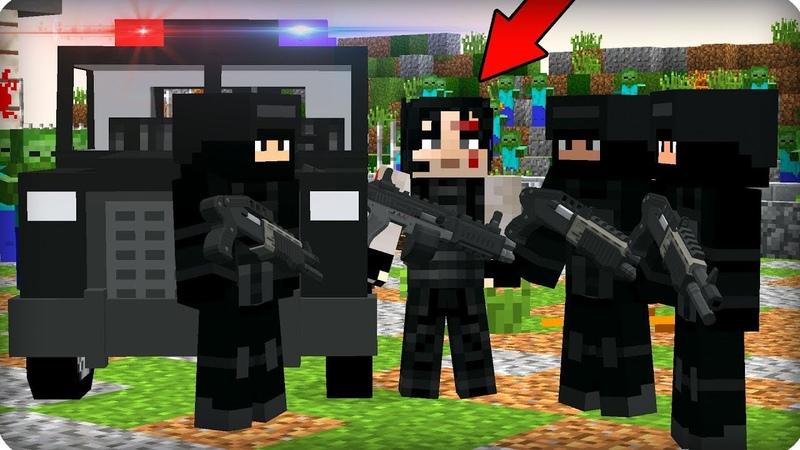 😱Нашел выживших военных ЧАСТЬ 93 Зомби апокалипсис в майнкрафт Minecraft Сериал