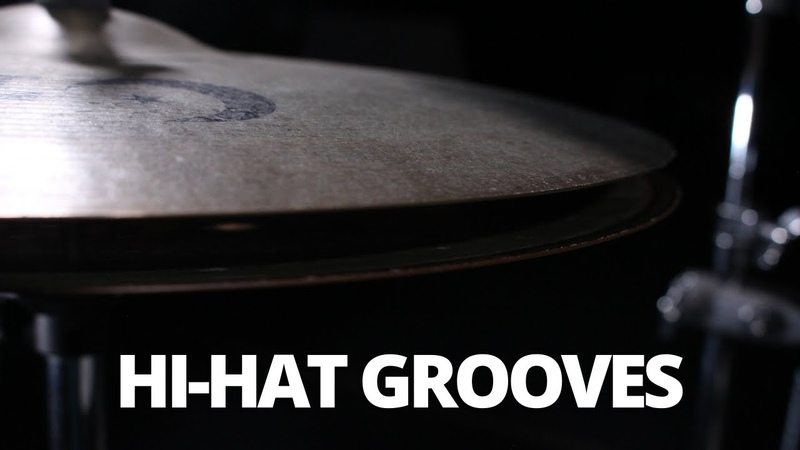 3 Tasty Grooves with Some Open Hi Hats Quick Drum Lesson
