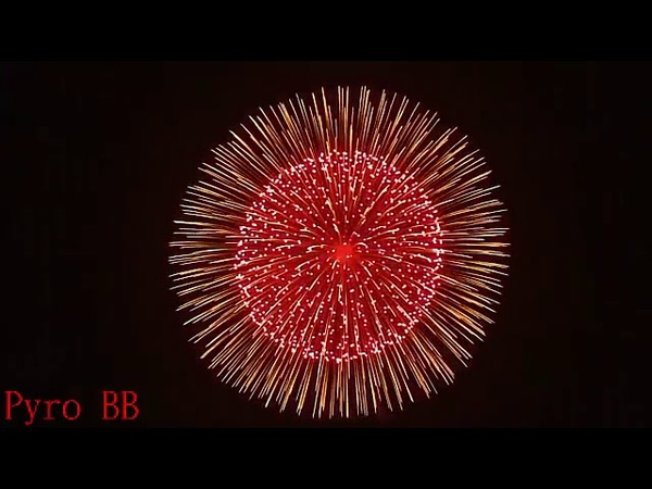 Top 5 most beautiful shell fireworks