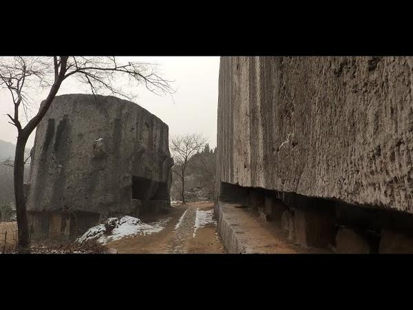 Артефакты древнего Китая 24 Мегалиты Карьера Яншань
