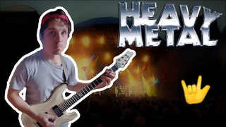 "Top 7 ""Iconic Heavy Metal"" Guitar Riffs"