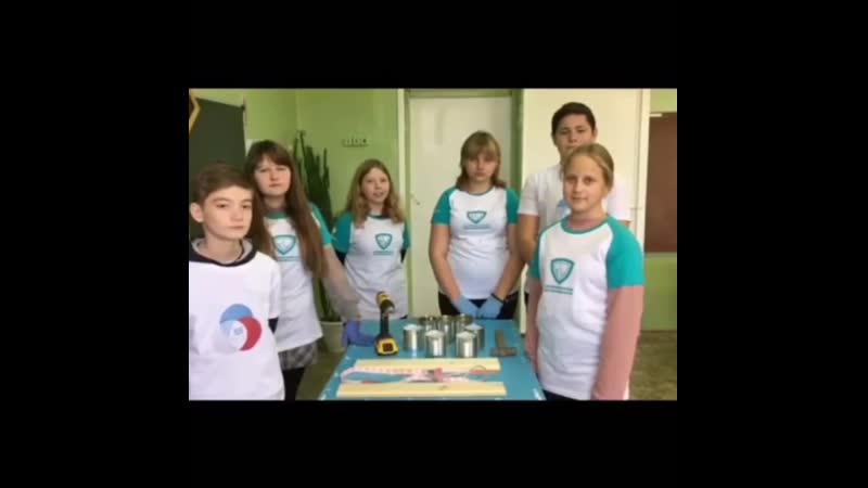 Волонтёрский отряд Мы вместе СОШ №2 им В Д Ревякина р п Самойловка Номин Видеоролик