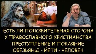 Н.Левашов: Есть ли позитивное в христианстве. Преступление и покаяние. Обезьяны - Йети - Человек