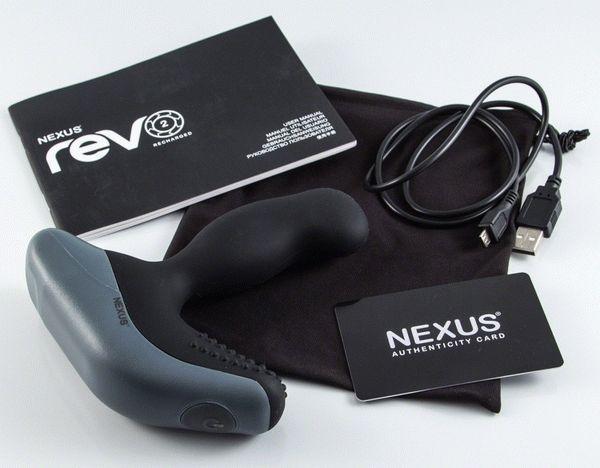 nexus revo 2 массажер простаты в