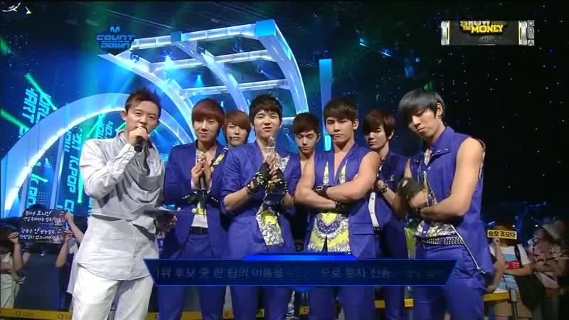 [120607] Mnet «M!Countdown»: Infinite - Intervew
