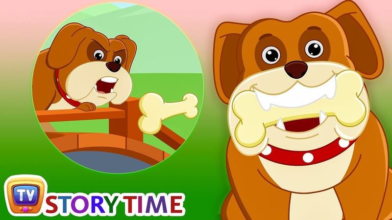 The Dog his Bone - Bedtime Stories for Kids in English | ChuChu TV Storytime