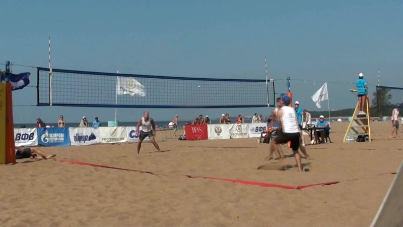 Beach volley Russia Solnechnoe 2018 M 03 Alfimov-Ermishenkov and Karpukhin-Adonin