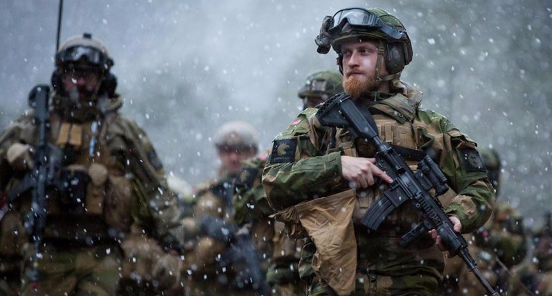 Тактическая борода в войсках Норвегии