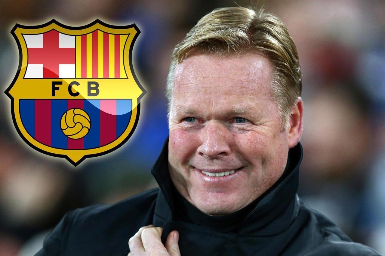 Рональд Куман, тренер ФК Барселона