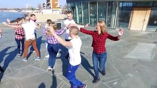 International Rueda de Casino Multi Flash Mob Anapa, Russia, March 30, 2019