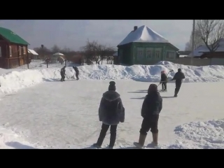 март 2018 хоккей в Стёпаново (2)