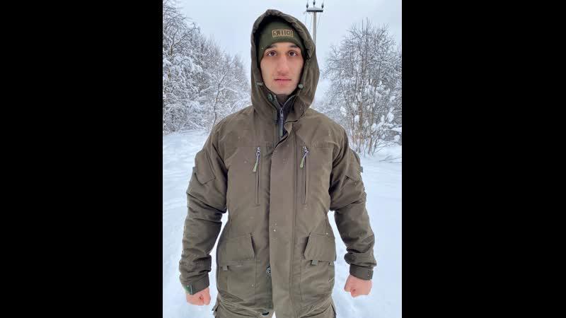 костюм Канада демисезонный Тёмный хаки Пилигрим