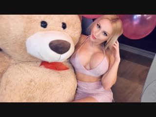 YesBabyLisa - Topless Sexy Big Fake BOOBS BOOTY Pornstar Model Strip Tease Video